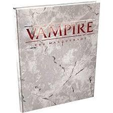 Vampire - The Masquerade - Deluxe  (5th Edition) - Core Rulebook Hardcover