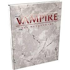 Vampire - The Masquerade - Deluxe  (5th Edition) - Core Rulebook Hardcover