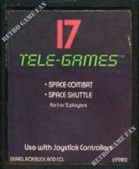 17 Tele-Games including Space Combat/Space Shuttle