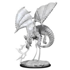 Nolzur's Marvelous Unpainted Miniatures - Young Blue Dragon