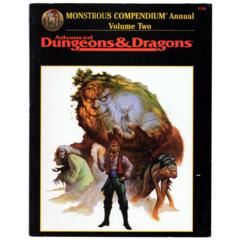 Advanced Dungeons & Dragons - Monstrous Compendium Annual Volume 2