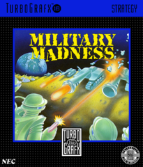 Military Madness (TurboGraphx 16)
