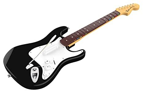 Rock Band 4 Fender Guitar with Game (Xbox One)