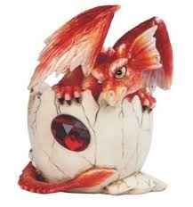 Baby Red Dragon - Hatching - 71467