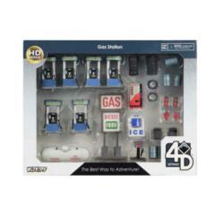 WizKids 4D Settings - Gas Station Miniatures