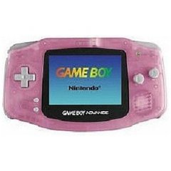 Game Boy Advance Clear Pink