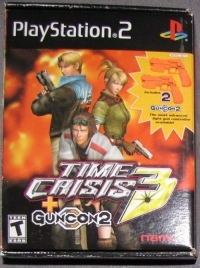 Time Crisis 3 w - 2 Guncons, (Playstation 2)