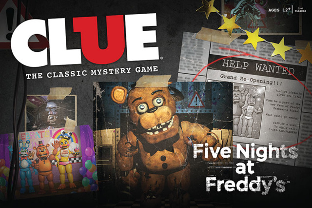 Clue - Five Nights at Freddys