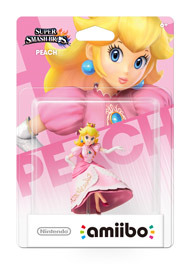 Princess Peach - Super Smash Bros. - Amiibo (Nintendo)