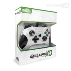 (Old Skool) RECLAIMER Wired Controller for XBOX ONE™ - White