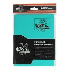 Monster Protectors 4 Pocket Teal Binder