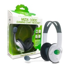 (Hyperkin) MZX-1000 Stereo Headset for Xbox 360 (White)