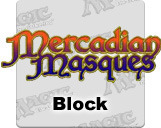 Masques logo block