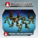 Robotech RPG Tactics Spartan Phalanx Destroids United Earth Defence Force Core Squadron