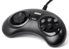 Sega Genesis Six Button Control Pad (Name Brand)