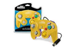 (Old Skool) GameCube / Wii Compatible Controller - Yellow