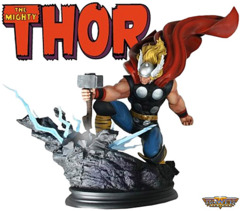 Marvel Thor Strike Down statue