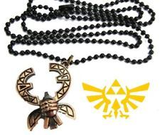 Zelda Necklace #7 Crab Shape