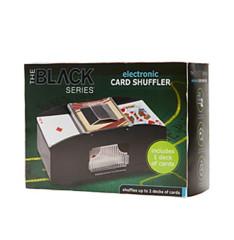 Electronic Card Shuffler - (Black Series)