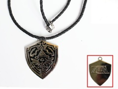 Legend Of Zelda Shield Necklace