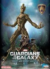 Groot with Rocket Model Kit (Marvel Guardians of the Galaxy)