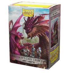 Dragon Shield - Father's Day Dragon (Art) Matte - 100 Sleeves