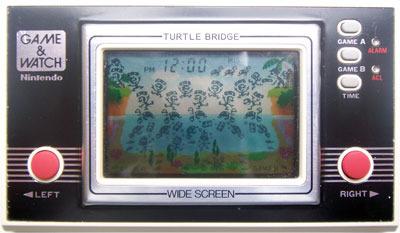 Game & Watch: Turtle Bridge (Wide Screen Series)