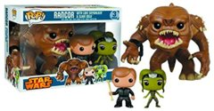 Rancor + Luke + Slave Oola (Star Wars) - 3 Piece