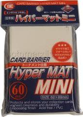 Hyper Mat White - Mini Sleeves (KMC) - 60 ct