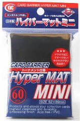 Hyper Mat Black - Mini Sleeves (KMC) - 60 ct