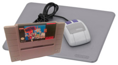 Mario Paint with Mouse and Mousepad (Super Nintendo)