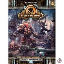 Iron Kingdoms Urban Adventure RPG Book