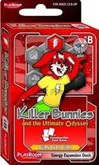 Killer Bunnies and the Ultimate Odyssey: Burn Baby Burn Energy Expansion Deck