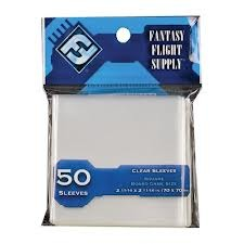 Clear - Board Game Sleeves (Fantasy Flight) - 70 x 70 mm