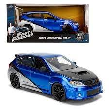 Brian's Subaru Impreza WRX STI (Fast & Furious) - Jada 1:24