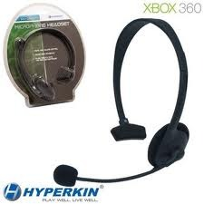 (Hyperkin) Microphone Headset for Xbox 360 - Black