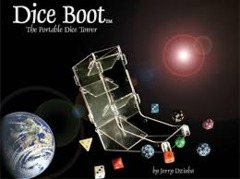 Chessx Dice Boot Chx00023 Dice Tower