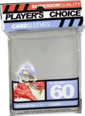 Player's Choice (Clear) - Small Sleeves - 60ct