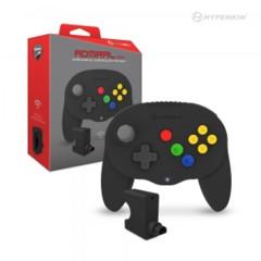 (Hyperkin) Admiral Wireless N64 Controller (Fighter Style) - Black
