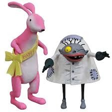 The Nightmare Before Christmas 25 Years Easter Bunny & Igor Select