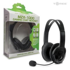 Xbox 360 MZX-1000 Stereo Headset (Black)