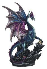 Blue Multi-Color Dragon w/ Prism - 16.25 in. - 71731