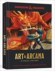Dungeons & Dragons RPG - Art & Arcana - A Visual History