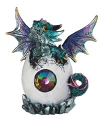 Blue Dragon Hatching Egg 5 in. - 71832