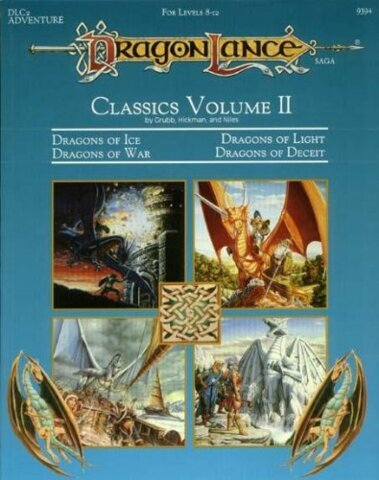 Advanced Dungeons & Dragons - DragonLance Saga: Classics Volume II