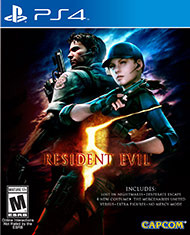 Resident Evil 5 - HD (Playstation 4)