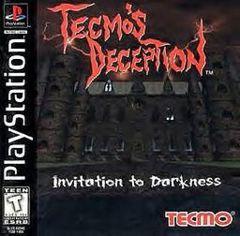 Tecmo's Deception Invitation to Darkness