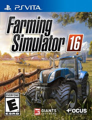 Farming Simulator 16 (PS Vita)