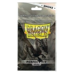 Smoke - Perfect Fit Inner Sleeves (Dragon Shield) - 100 ct