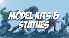 Modelkitsstatues